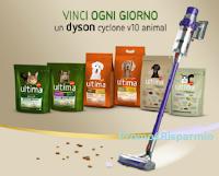 Logo Concorso ''Ultima regala Dyson'': vinci 63 aspirapolvere Dyson V10 animal