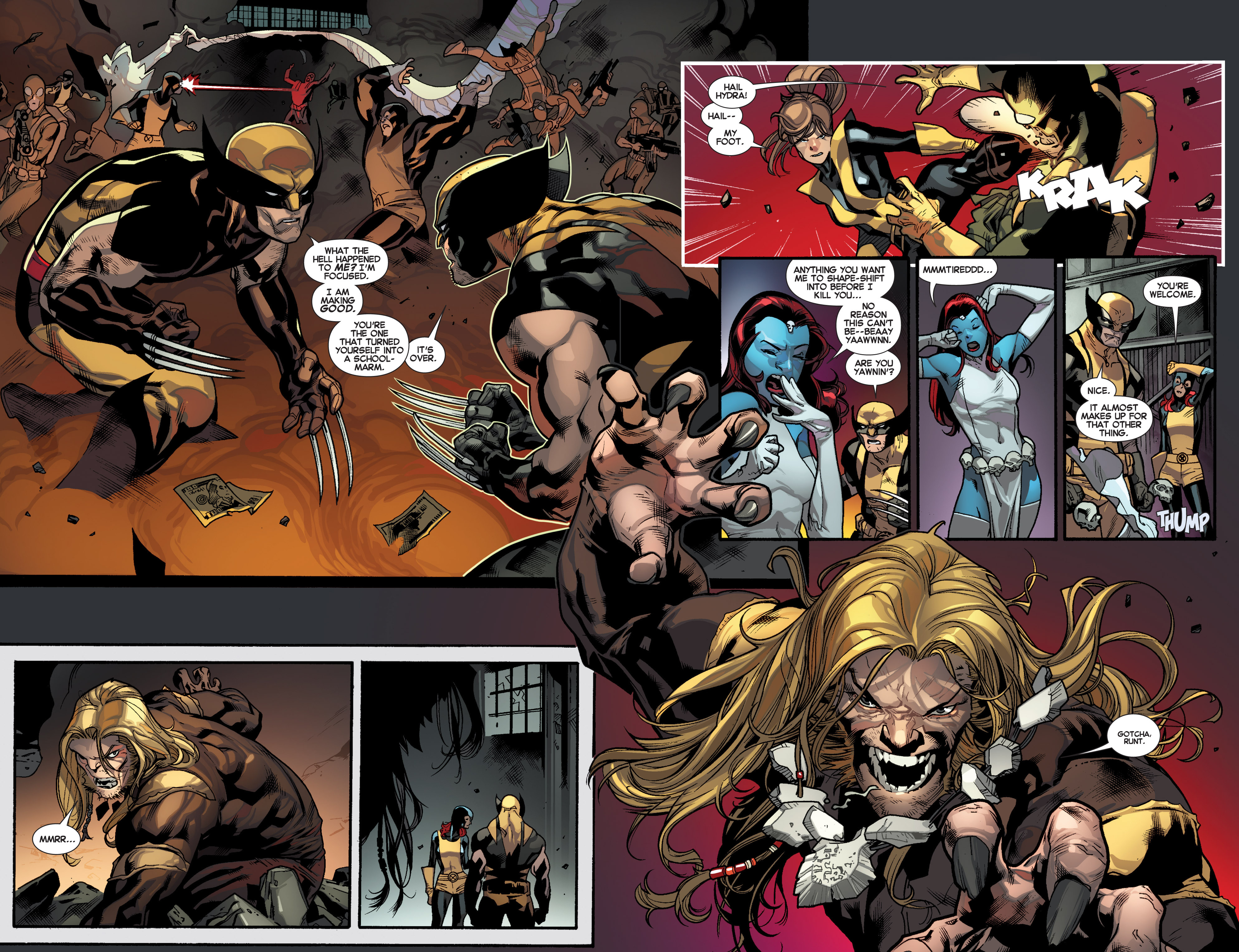 Read online All-New X-Men (2013) comic -  Issue # _Special - Out Of Their Depth - 78