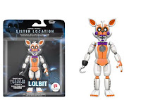 Articulated Action Figure: Five Nights at Freddy's – Sister Location Lolbit