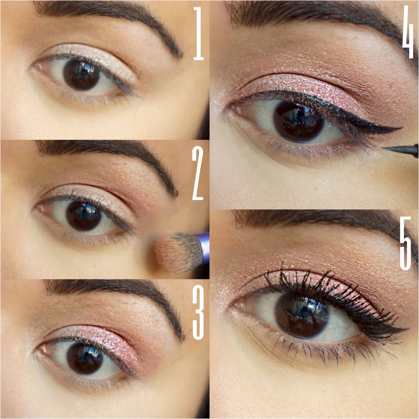Simple Eye Makeup With Pictures - Mugeek Vidalondon