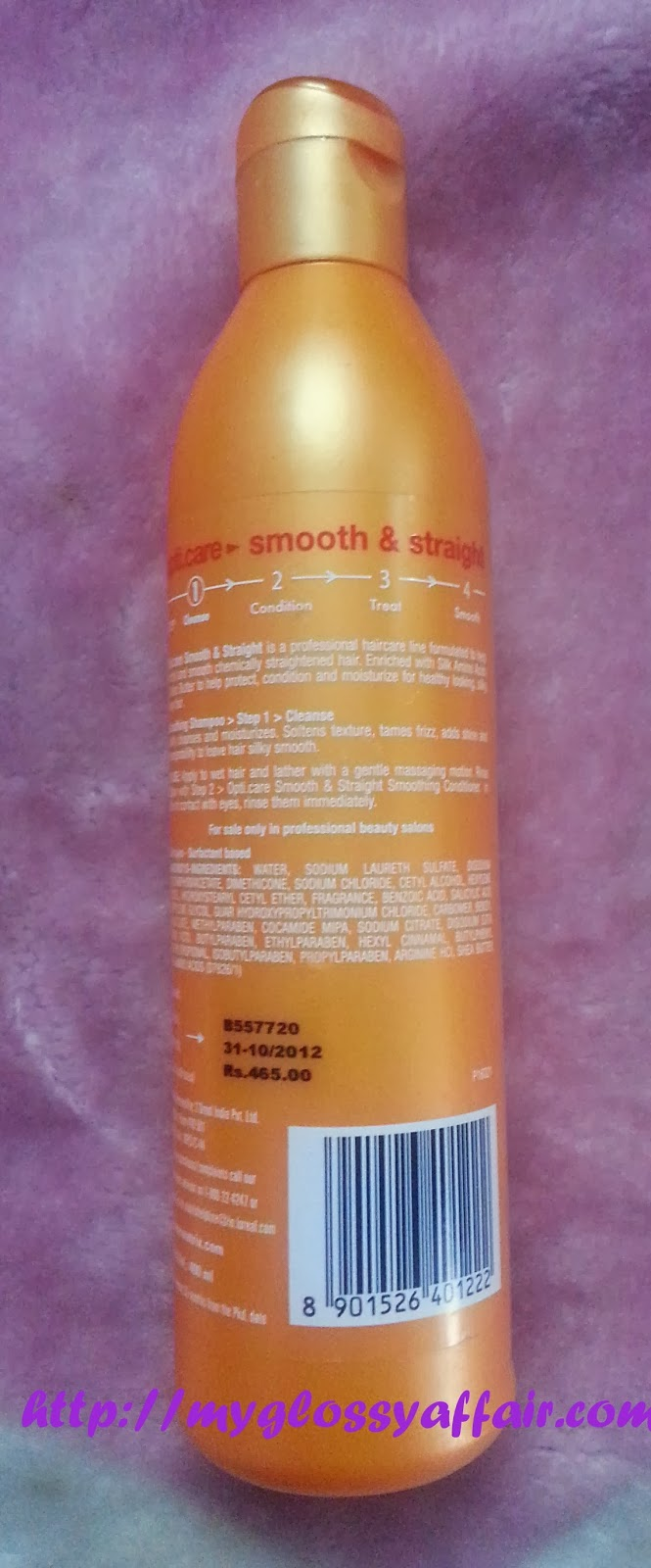 Matrix Opti Care Smoothing Shampoo Review