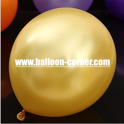 Balon Latex Metalik 12 Inchi Kualitas SUPER GRADE 'A'