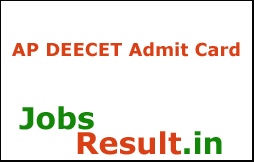 AP DEECET Hall Ticket 2018