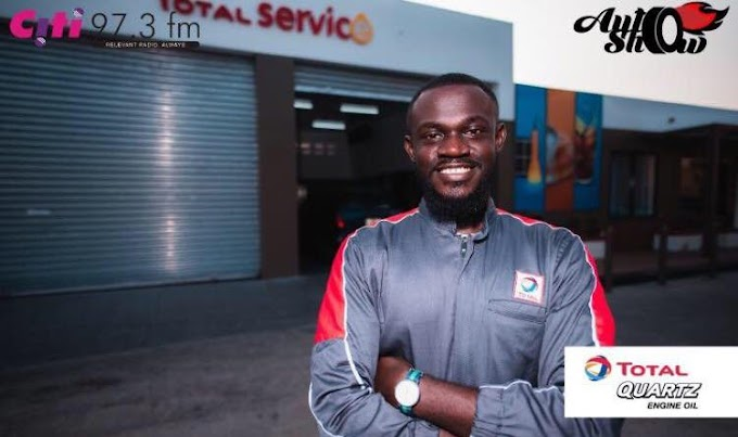 Citi FM's Osei Kwame turns Mechanic