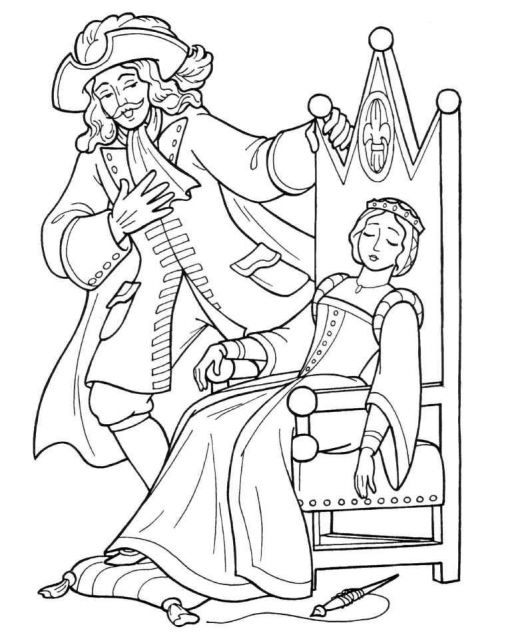 barbie nutcracker coloring pages free | Nutcracker and Princess Coloring Pages