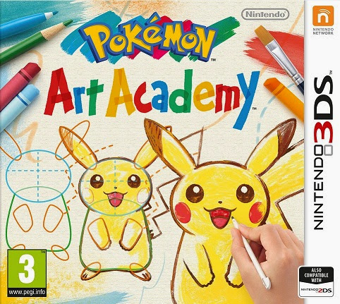 [3DS] Pokémon Art Academy