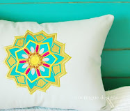 Mandala Applique