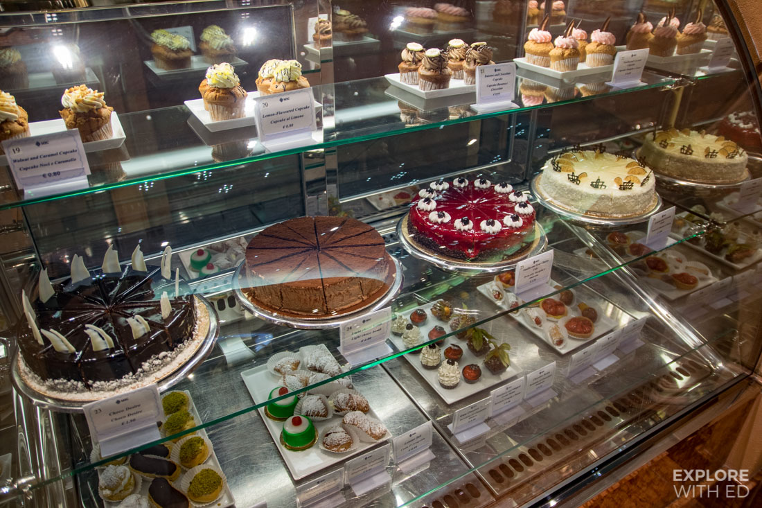 Bar Pasticceria selection on MSC Preziosa