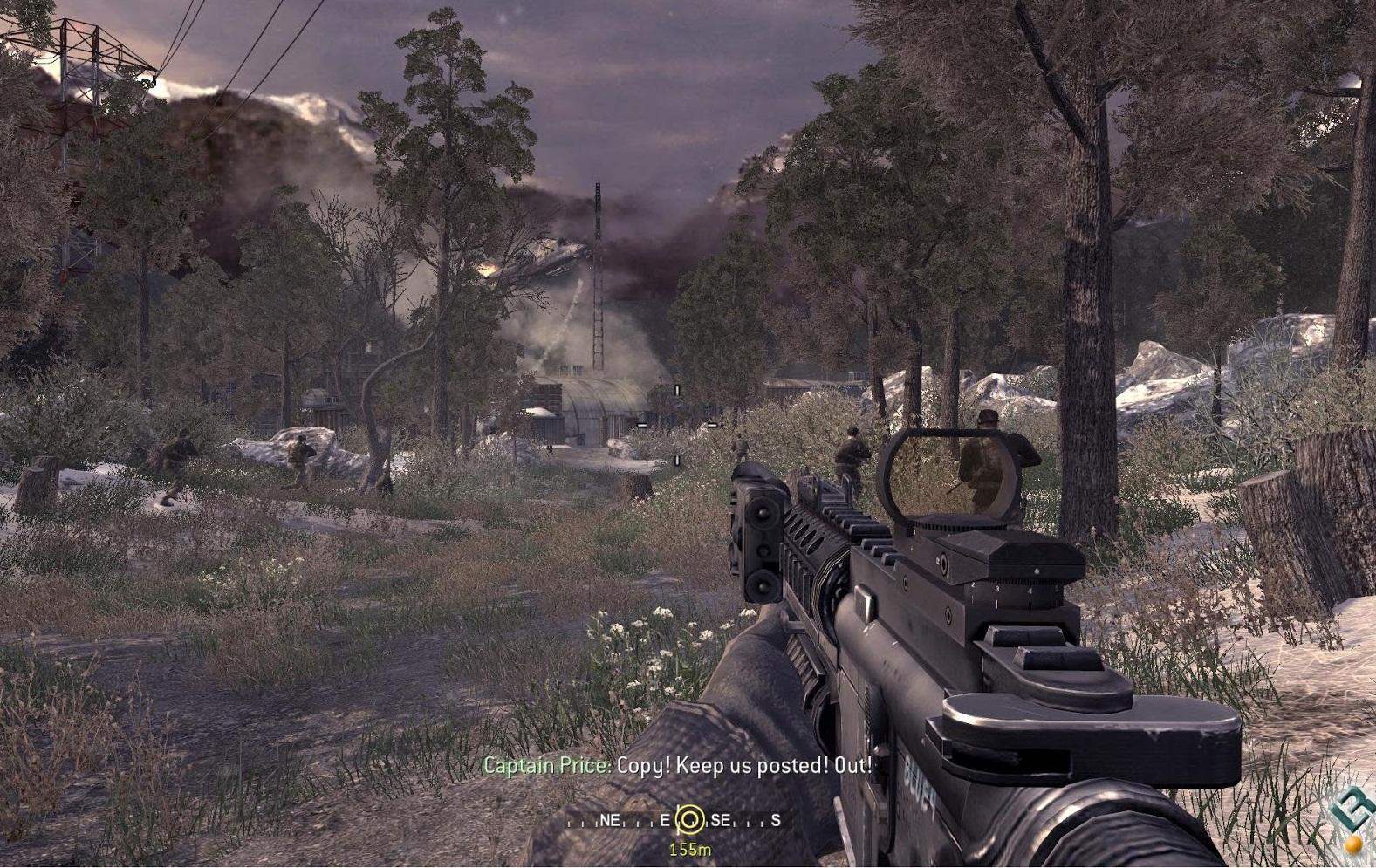 Call of duty 4. Call of duty modern warfare remastered intel.