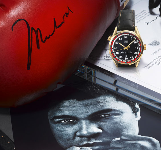 Tag Heuer Ring Master Tribute to Muhammad Ali