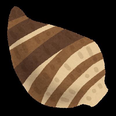 海老芋のいのイラスト