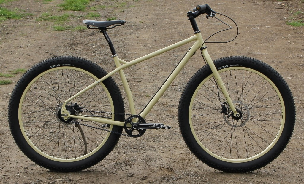 The Monkey Lab Surly Ecr With Rohloff Speedhub And Belt Drive