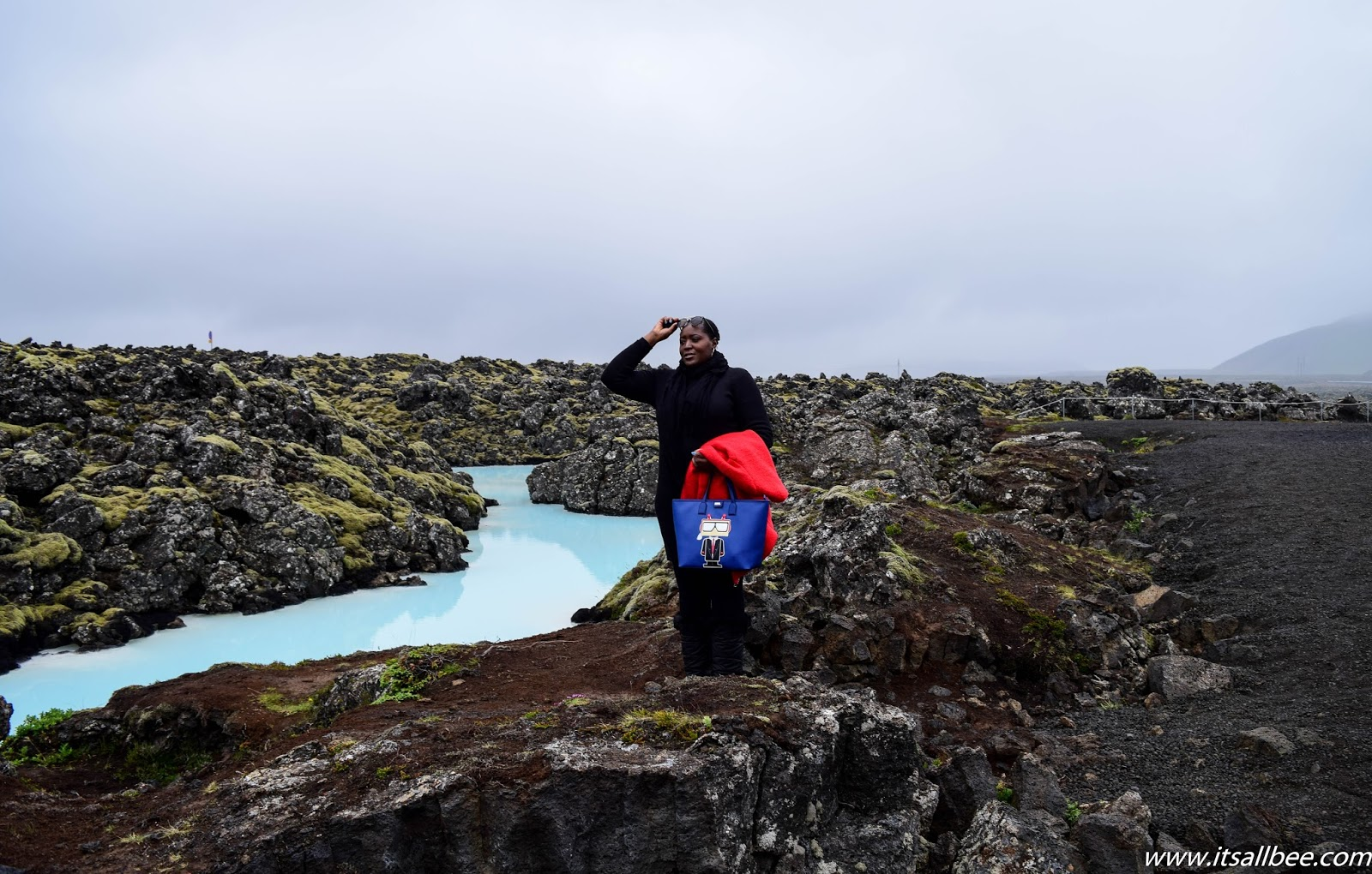Visiting The Blue Lagoon In Iceland + Tips - Blue Lagoon Location, Admission fee and how to get there! #itsallbee #traveltips #adventure #spas #hotspring