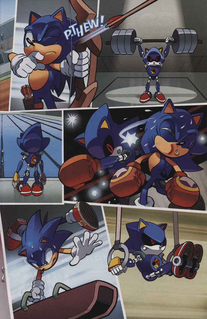 Read online Sonic The Hedgehog comic -  Issue #242 - 19