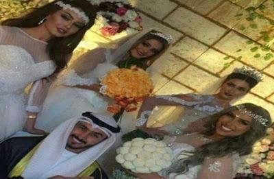 سبب عجيب جعل هذا الكويتي يقرر الزواج بأربع في ليلة واحدة