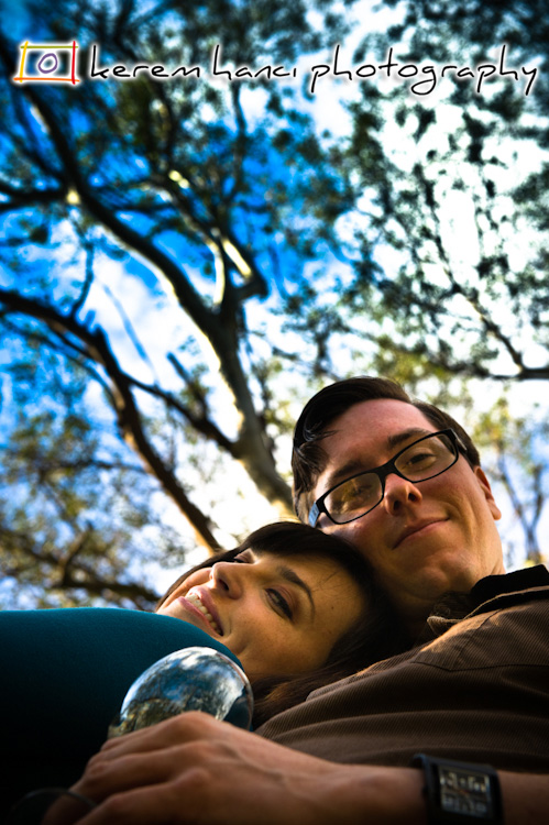 Jacqueline and Douglas' Engagement Session - Under The Trees Under The Blue Sky