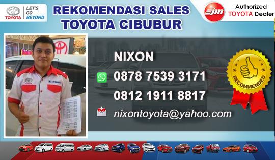 Rekomendasi Sales Toyota Setiajaya Cibubur Bekasi