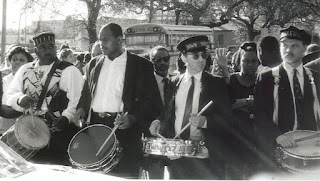 Jazz funeral for Danny Barker in 1994