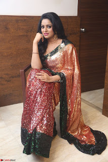 Udaya Bhanu lookssizzling in a Saree Choli at Gautam Nanda music launchi ~ Exclusive Celebrities Galleries 002.JPG