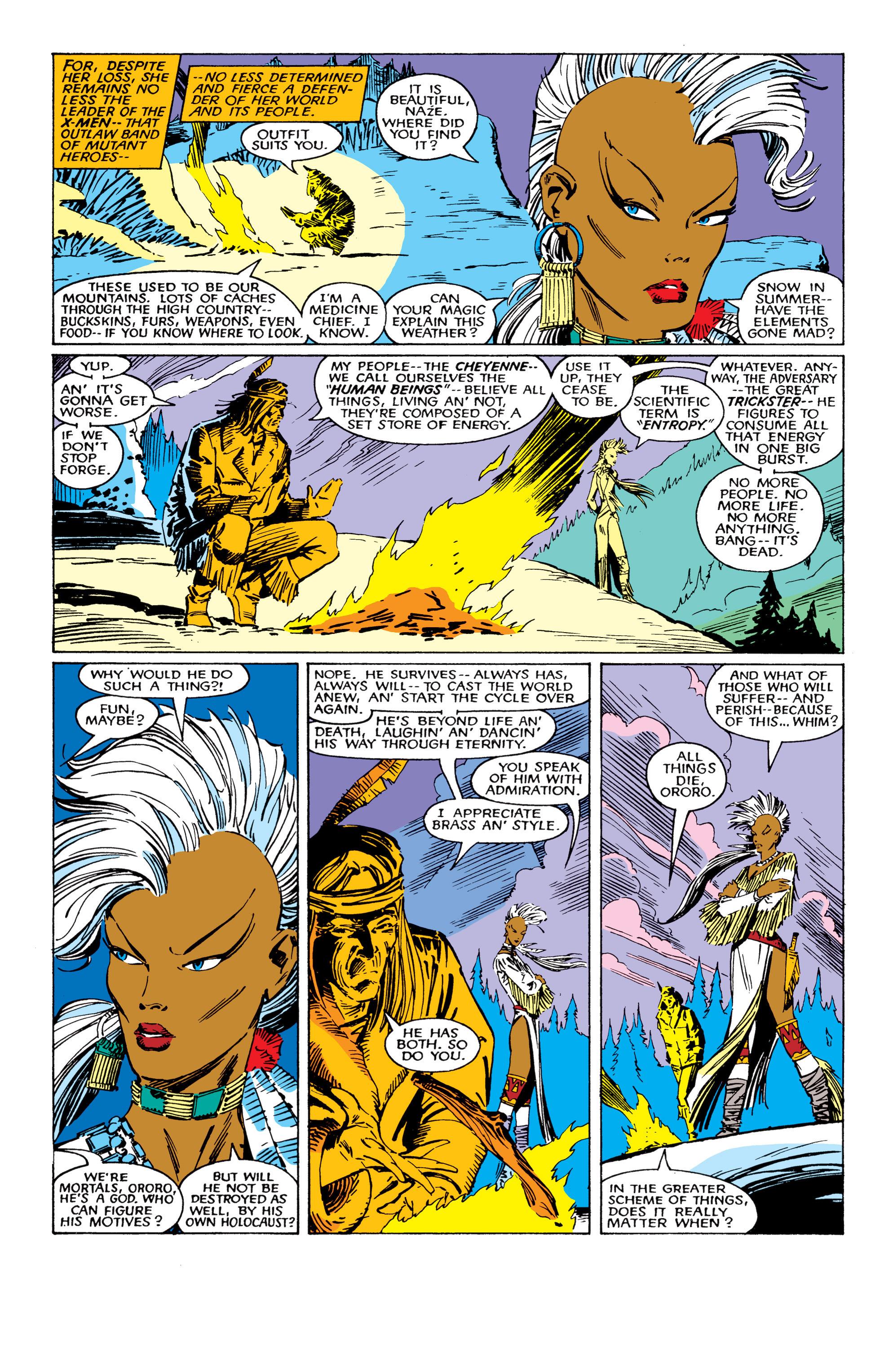 Read online Uncanny X-Men (1963) comic -  Issue #224 - 3