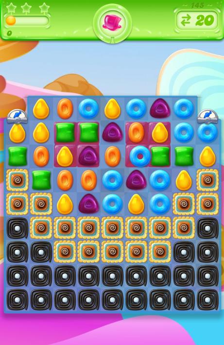 Candy Crush Jelly Saga 145
