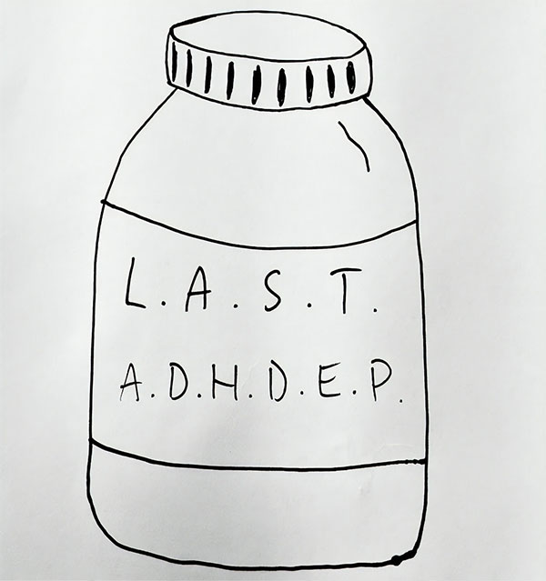 "LAST stream new EP ""L.A.S.T.A.D.H.D.E.P"""