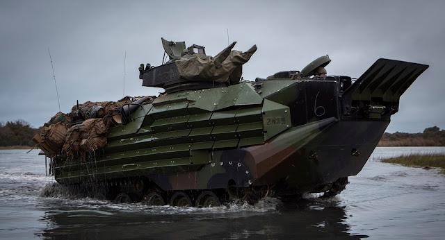 EEUU autoriza la venta de 11 Vehículos de Asalto Anfibio para la Infantería de Marina española
