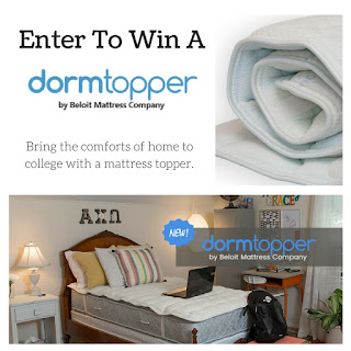 Enter To Win A Dormtopper. Ends 9/2