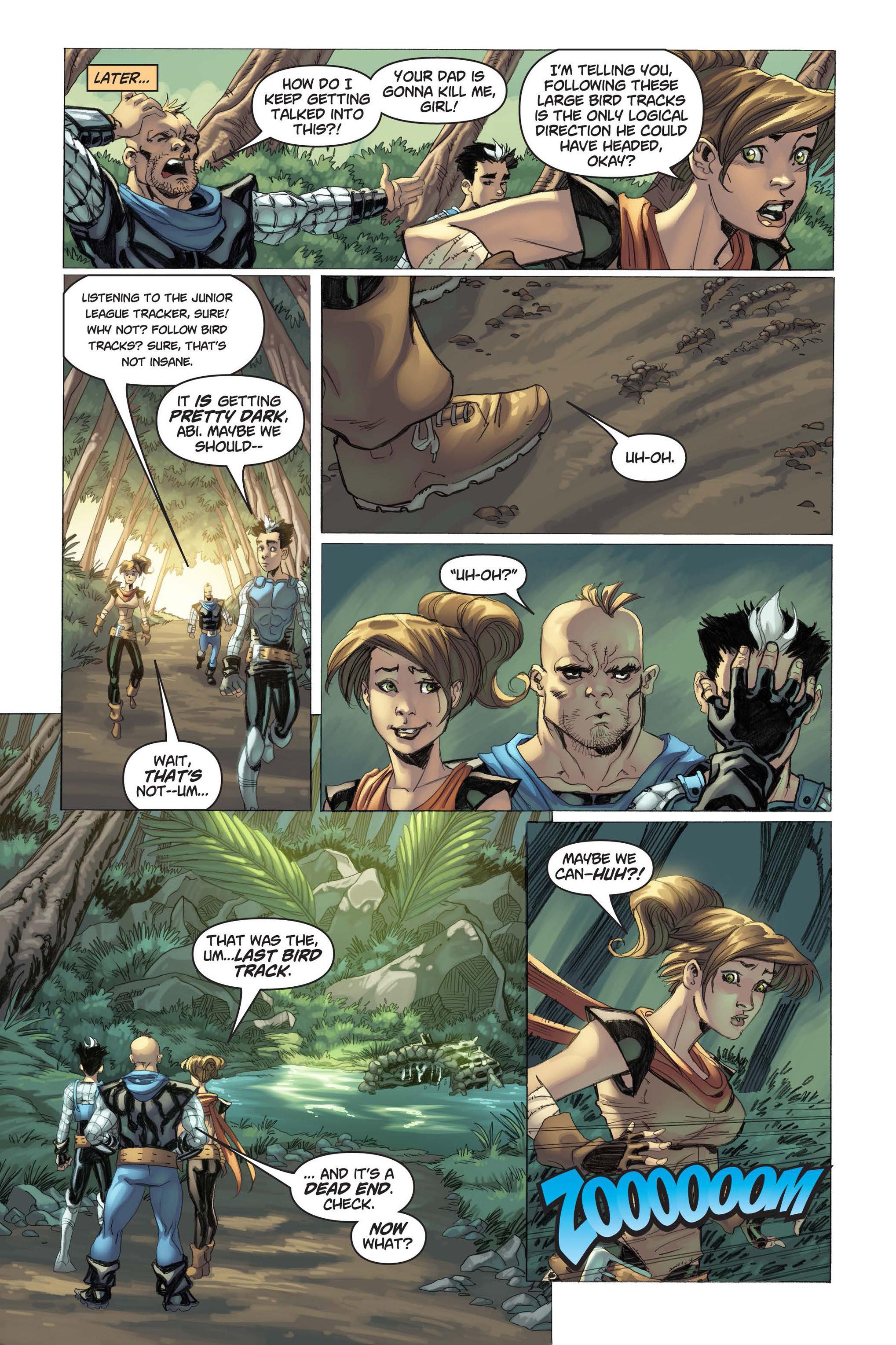 Read online Skyward comic -  Issue #3 - 21