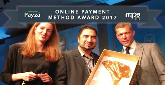 Payza Wins Best Online Payment Method at the MPE 2017 Awards