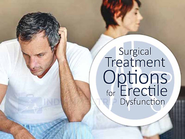 Surgical Treatment Options for Erectile Dysfunction