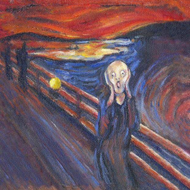 Masterpiece Painting Scream