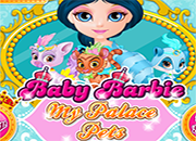 Baby Barbie My Palace Pets juego