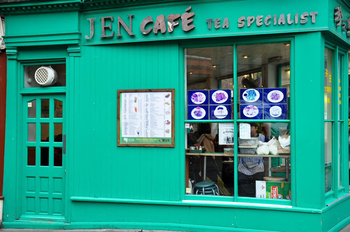 Jen Cafe, Chinatown, London, England