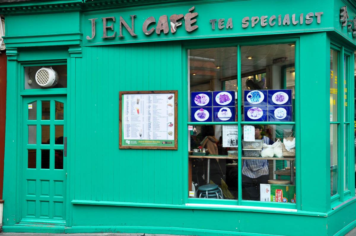 Jen Cafe, Chinatown, London, England