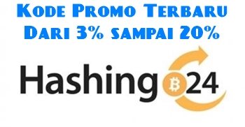 Kode Kupon Hashing24 Terbaru & Voucher Diskon Hashing24 Cloud Mining