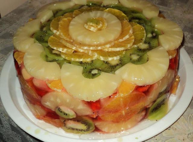 Torta od južnog voća