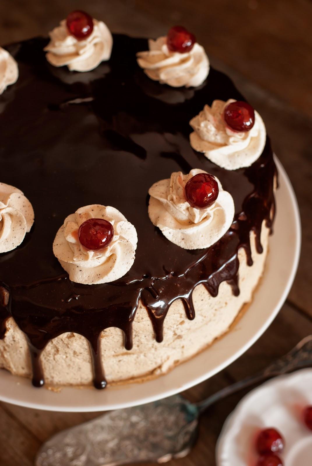 Tort kawowo-czekoladowy bez glutenu