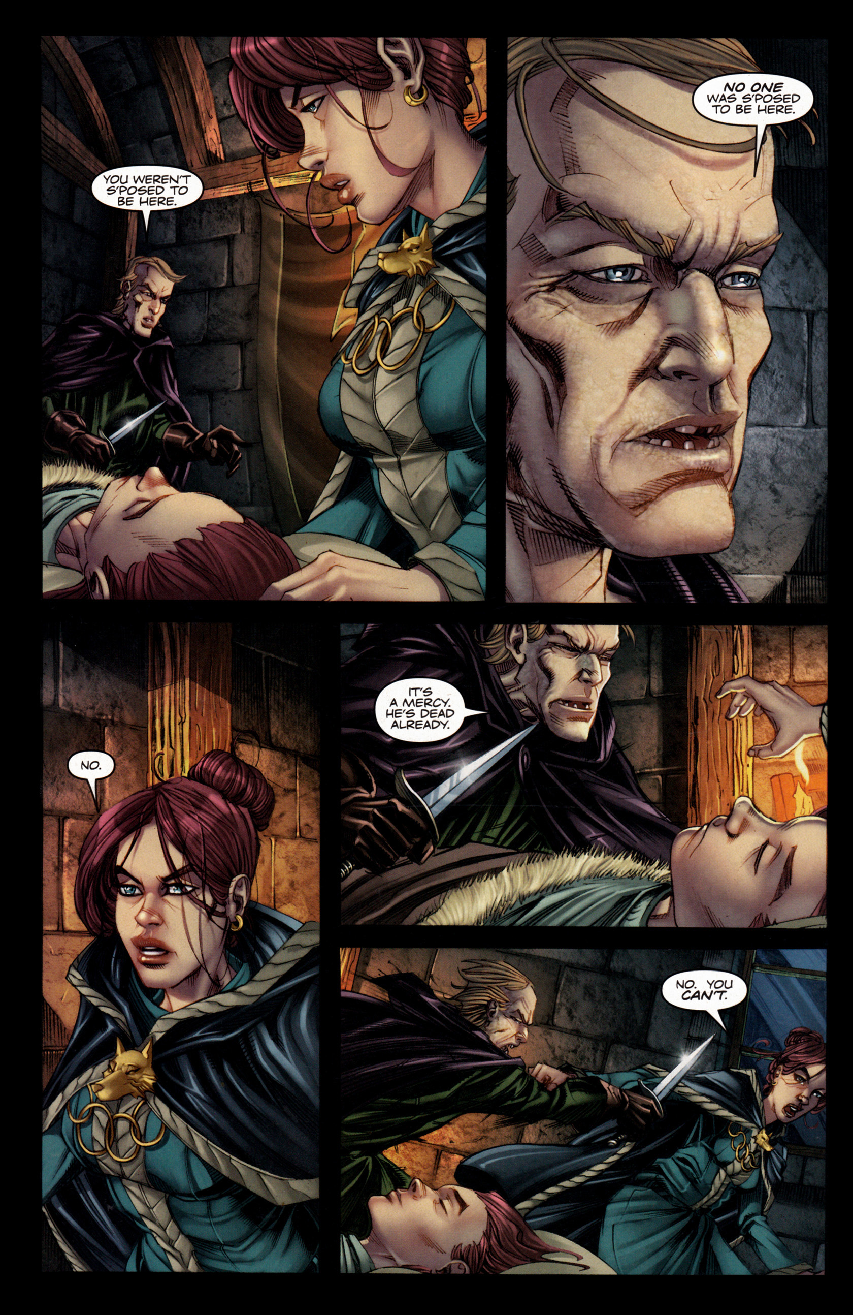 Read online A Game Of Thrones comic -  Issue #4 - 24