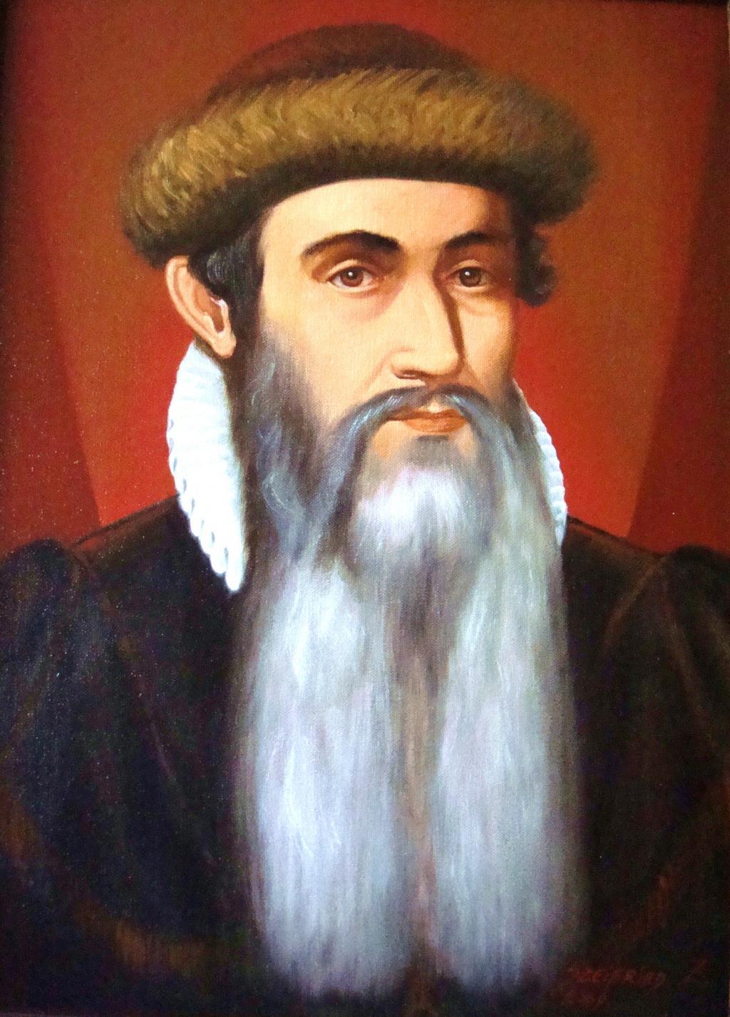Johannes Gutenberg : โยฮันน์ กูเต็นเบอร์ก (1400-1468 ...