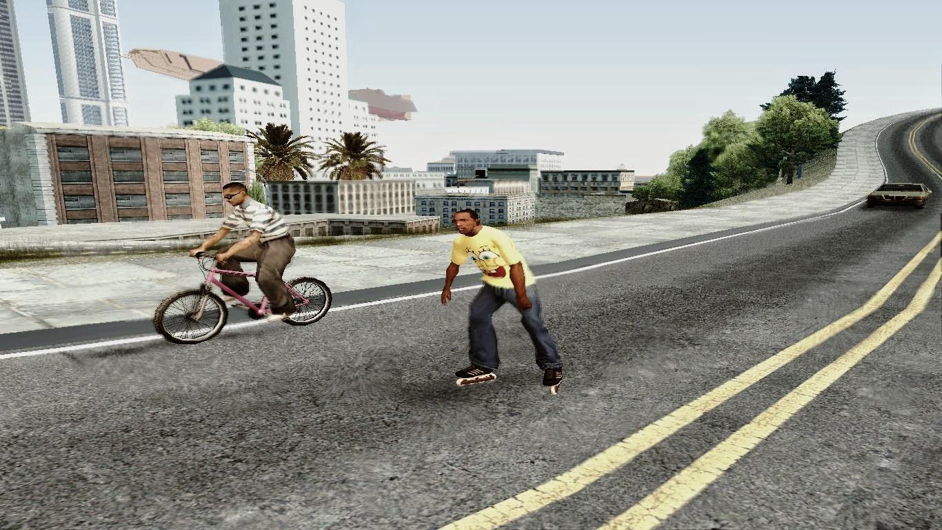 Roller Skates Gta San Andreas 4