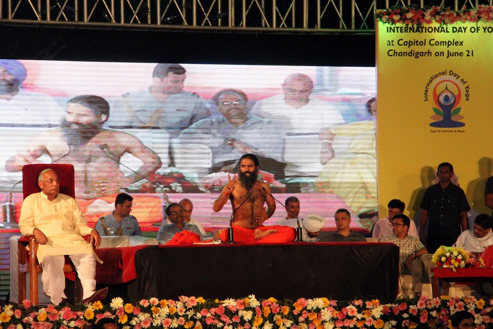 sportswire: Baba Ramdev highlights benefit of yoga
