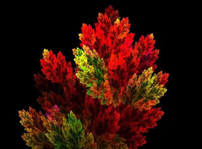 dibujo-de-hojas-de-color-rojo-y-verde