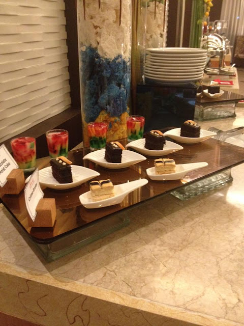 Cakes at H Cafe