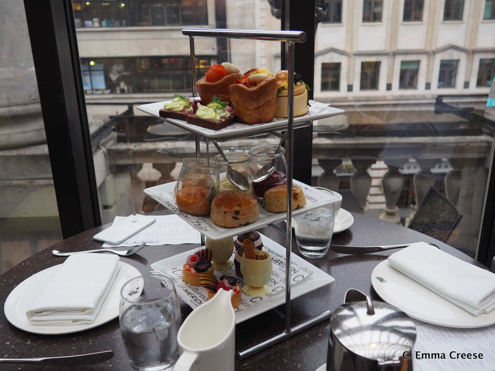 Luxury Afternoon Tea Brunch Le Meridian Picadilly Adventures of a London Kiwi