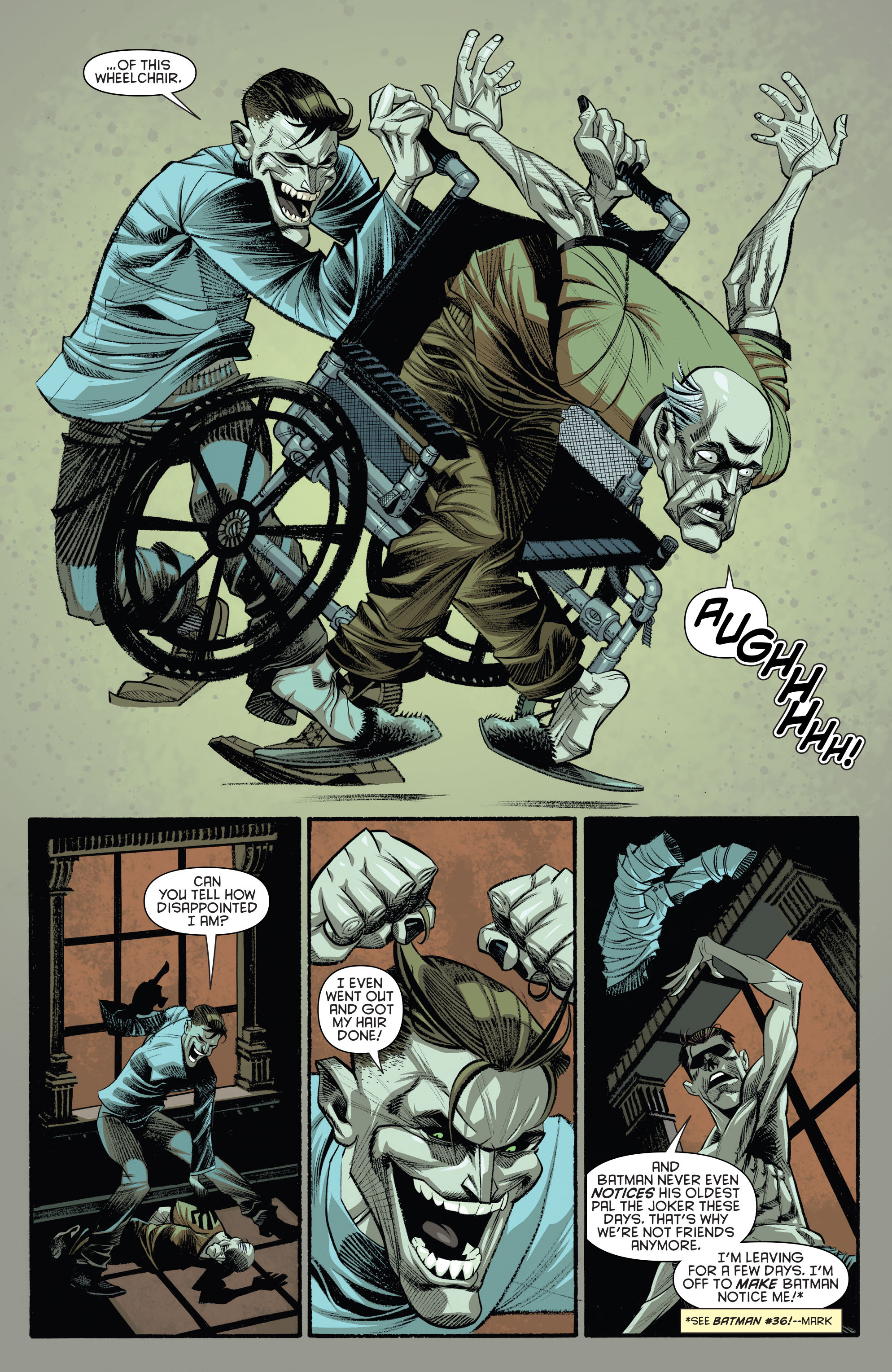 Read online Arkham Manor comic -  Issue #3 - 18