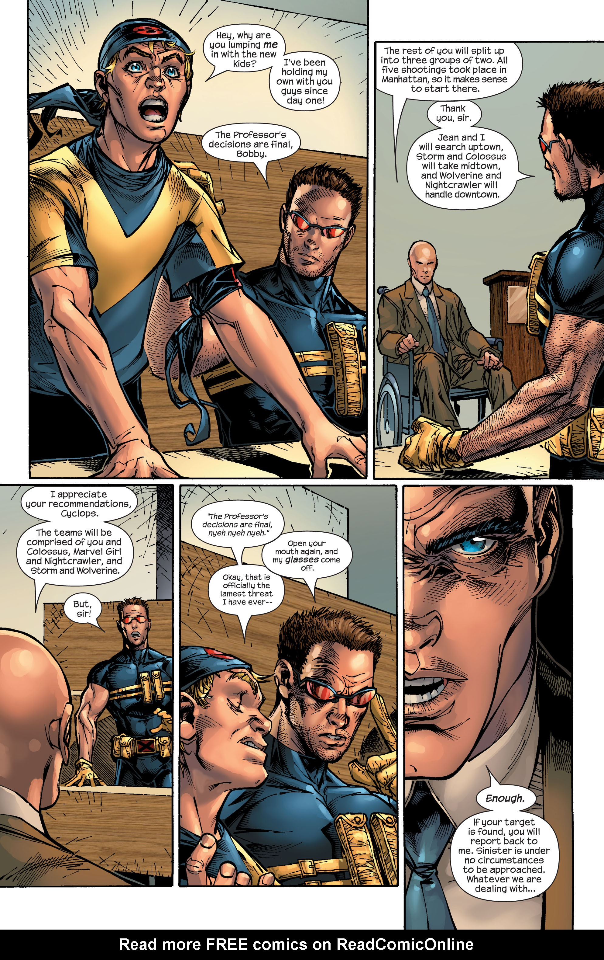 Read online Ultimate X-Men comic -  Issue #47 - 23