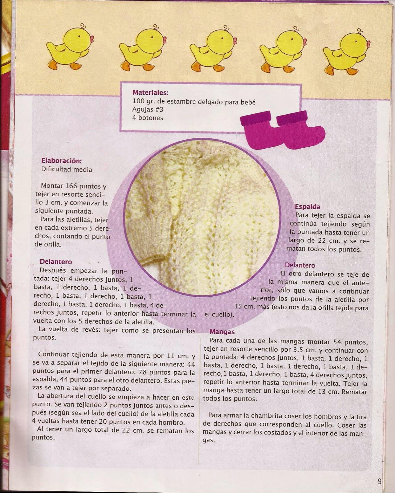 como hacer tejidos para bebes en crochet - Revistas de crochet y ...