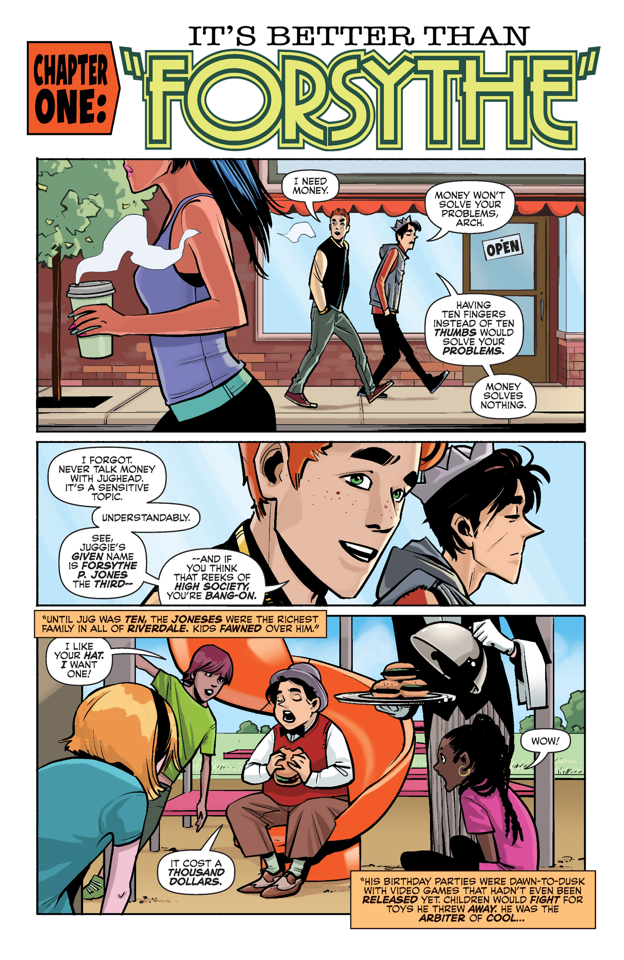 Read online Archie (2015) comic -  Issue #2 - 4
