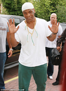 Palm Image Of Mike Tyson Palmistry